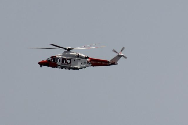 Portland Coastguard Helicopter