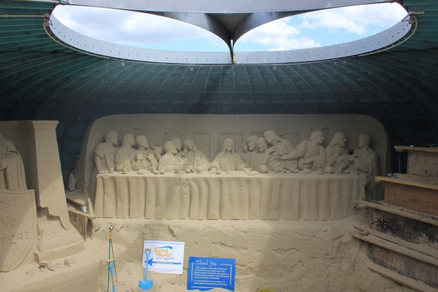 Weymouth Sand Sculpture