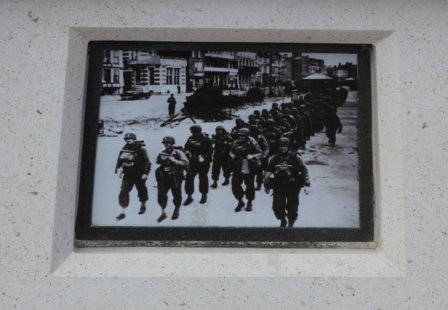 Weymouth D-Day War Memorial Plaque photo