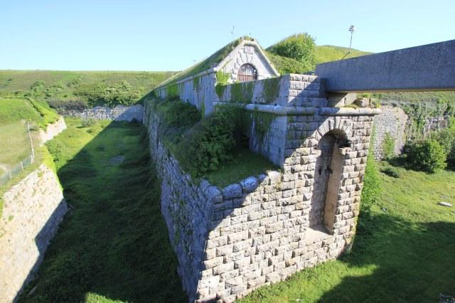 Entrance to Verne Prison