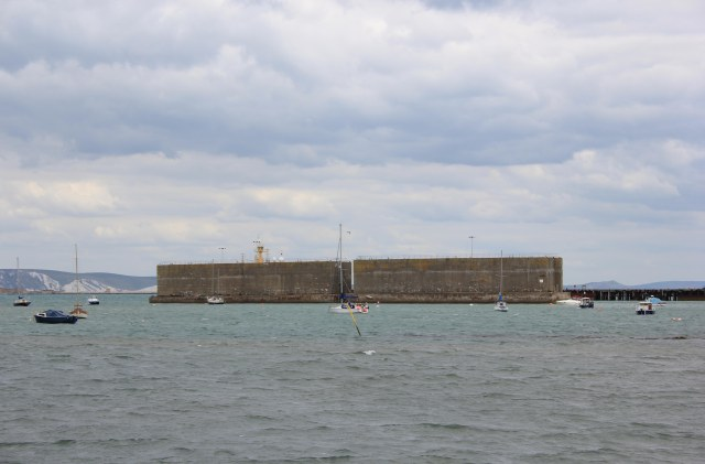 Phoenix Caissons in Portland Harbour
