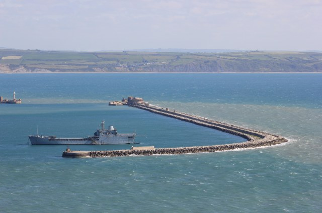 Portland Harbour Breakwaters