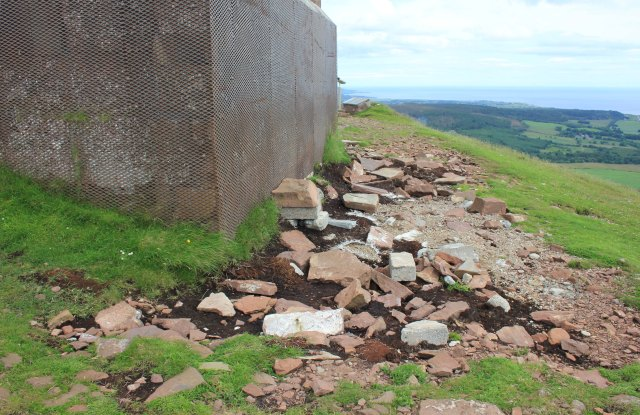 Damage to the Sutherland Monument
